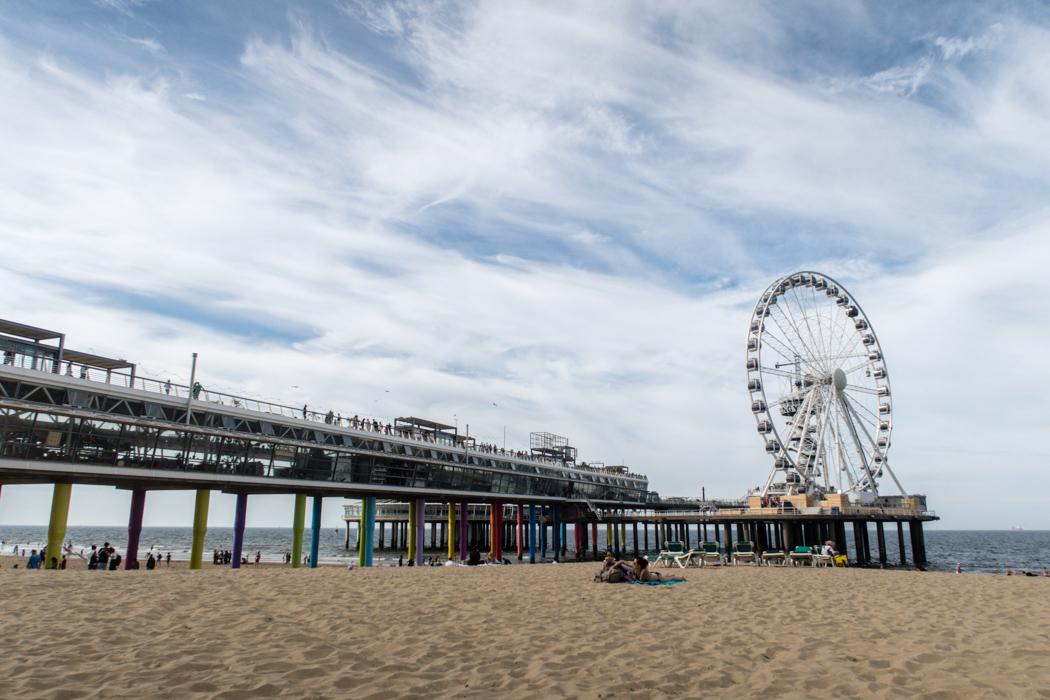 Den Haag: Der Strand von Scheveningen
