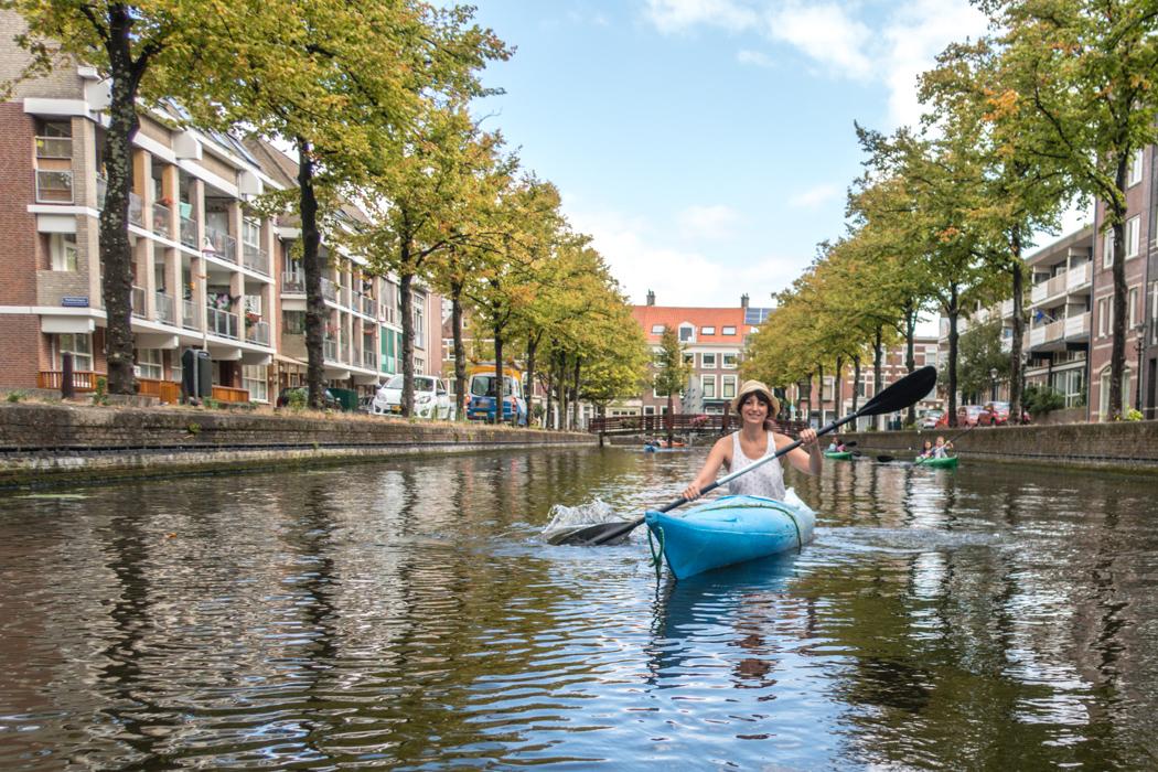 Den Haag - Kajaktour auf den Kanälen