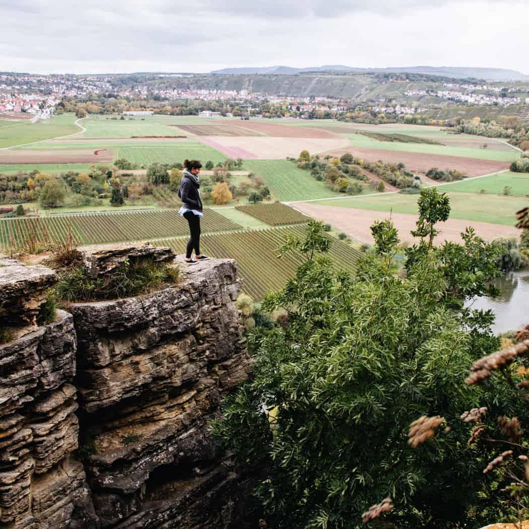 Die schönste Weinsicht von den Hessigheimer Felsengärten