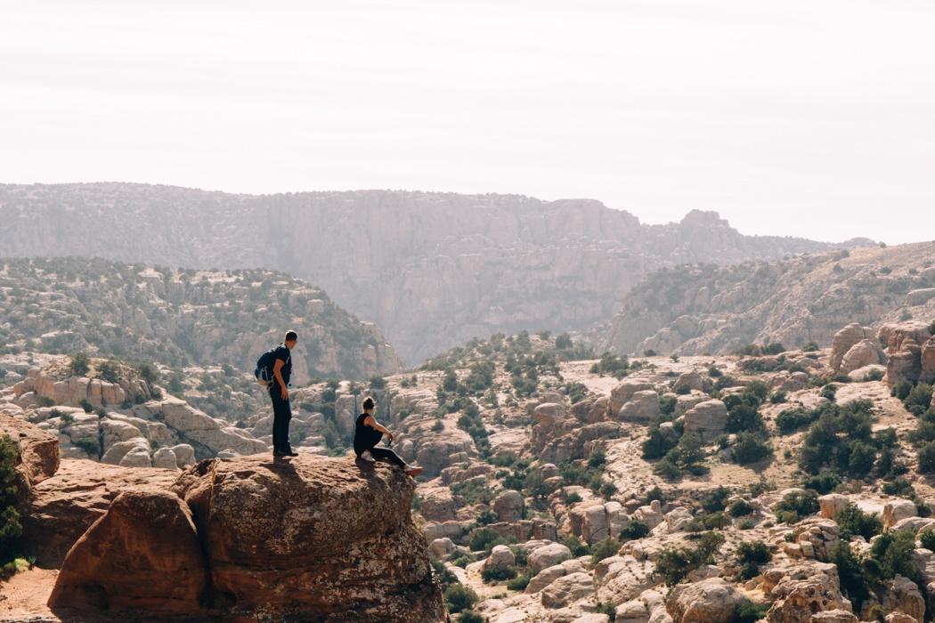Abenteuer Jordanien: Wandern im Dana Biosphärenreservat