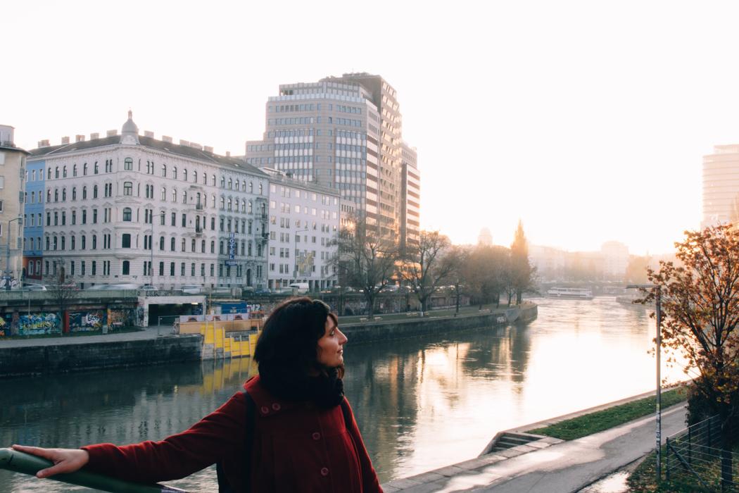 Wien Sightseeing Tipps: Ein Spaziergang am Kanal