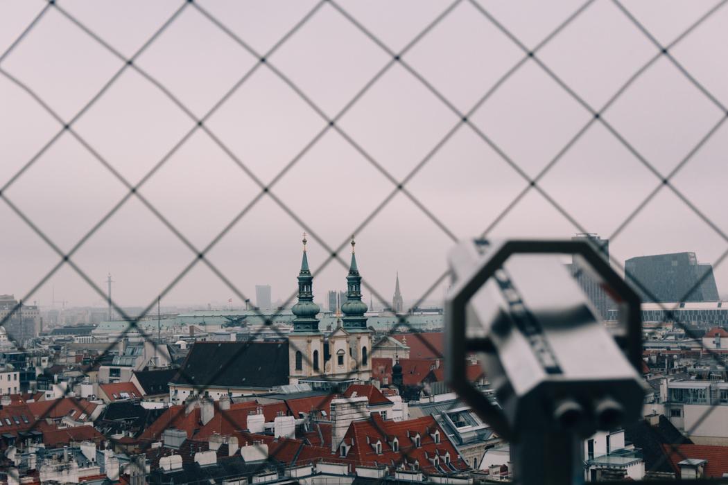 Wien Sightseeing Tipps: Pferdekutschen & Wien von oben: Stephansdom