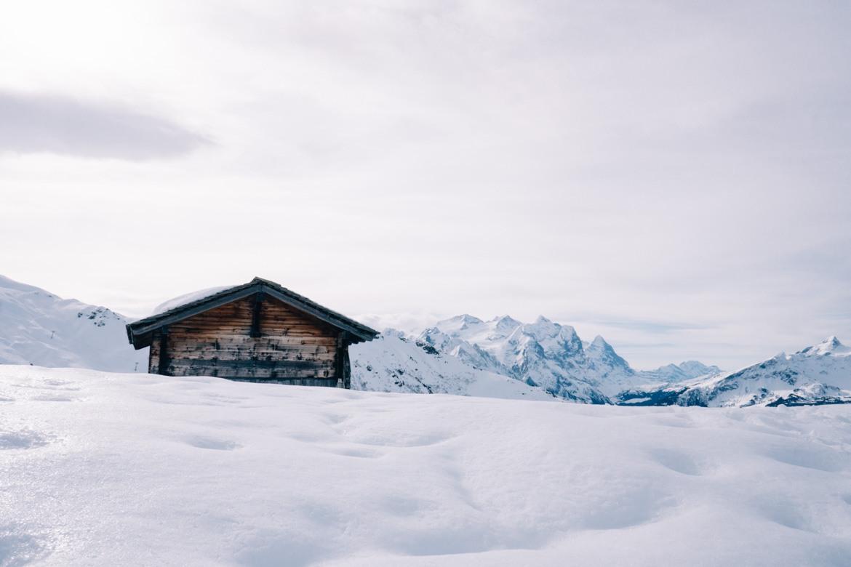 Jungfrau Region / Schweiz - Unberührte Winterlandschaften neben der Piste in Meiringen Hasliberg