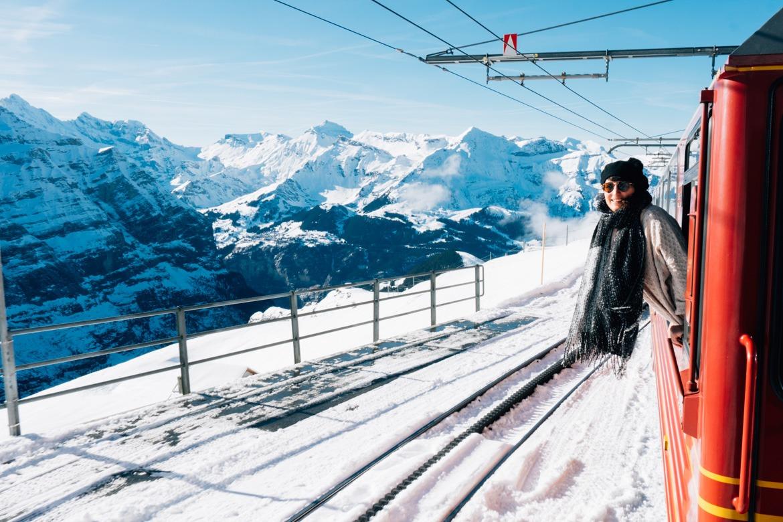Jungfrau Region / Schweiz - Mit dem Zug auf das Jungfraujoch