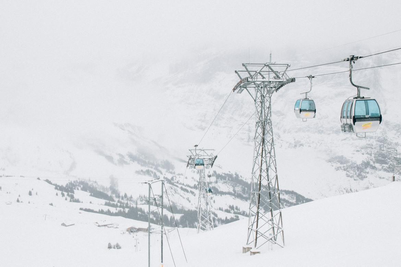 Jungfrau Region / Schweiz - Auf der Bergstation First
