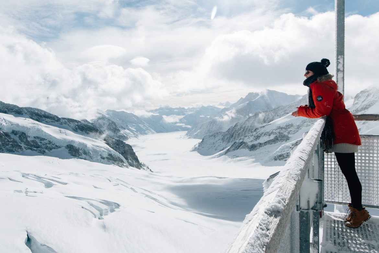 Jungfrau Region / Schweiz - Im Winter auf dem Jungfraujoch