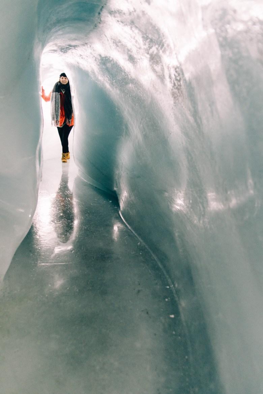 Jungfrau Region / Schweiz- Im Eispalast - mitten im Gletscher
