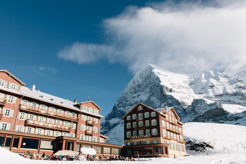 Jungfrau Region / Schweiz im Winter - Auf der kleinen Scheidegg