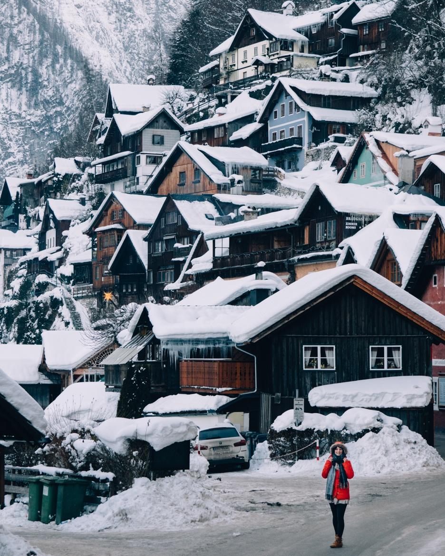 Skifahren und mehr – Ein Winter-Roadtrip durchs Salzkammergut: Ausflug nach Hallstatt