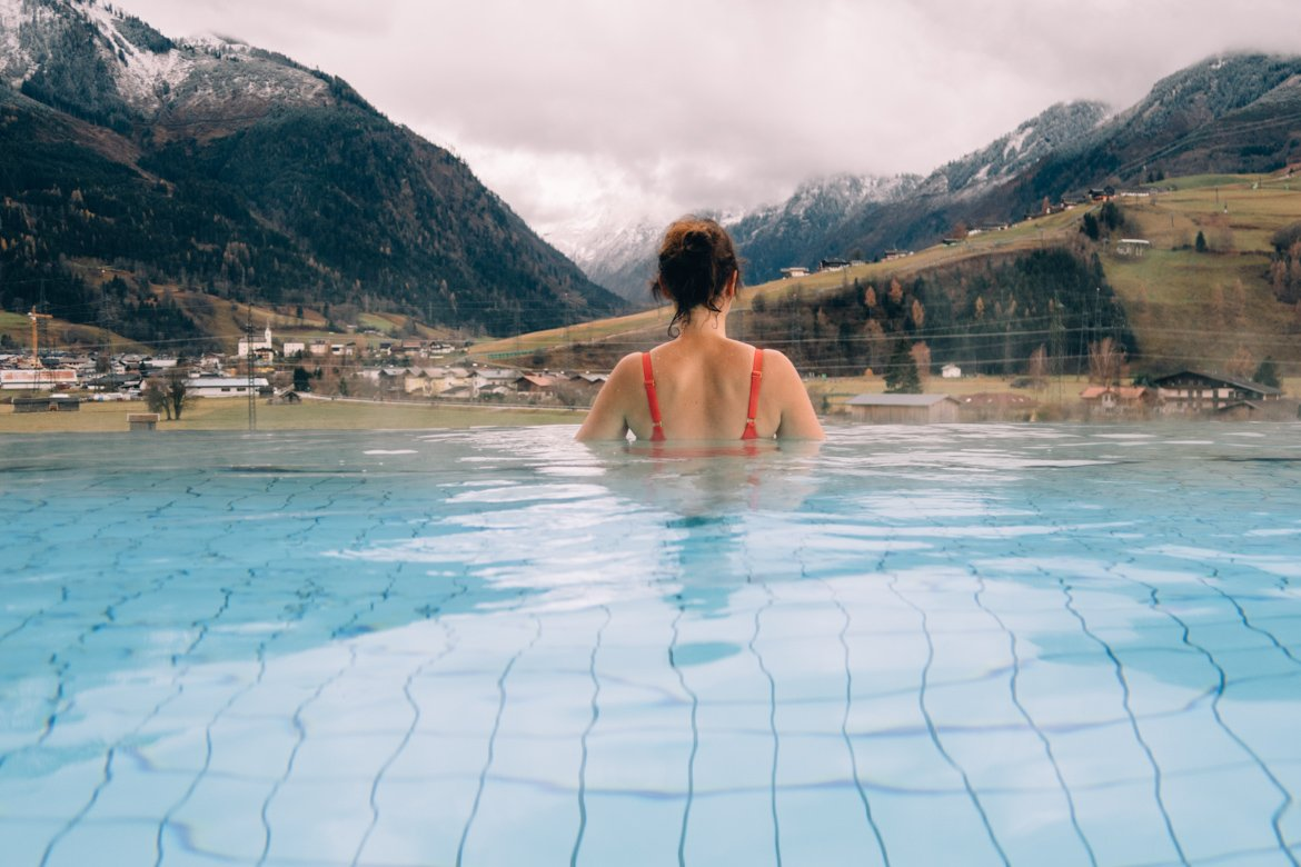(Infinity-)Pools in den Alpen #2 - Tauern Spa