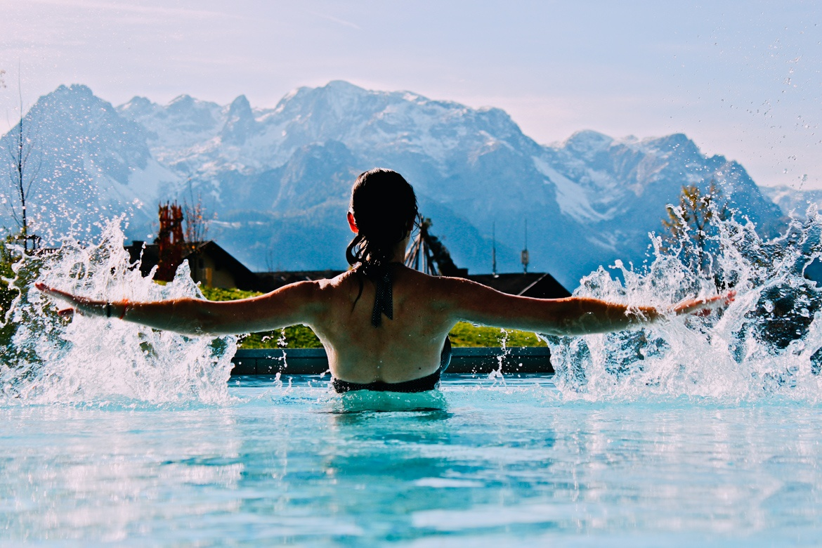 (Infinity-)Pools in den Alpen #7 - Travel Charme Werfenweng