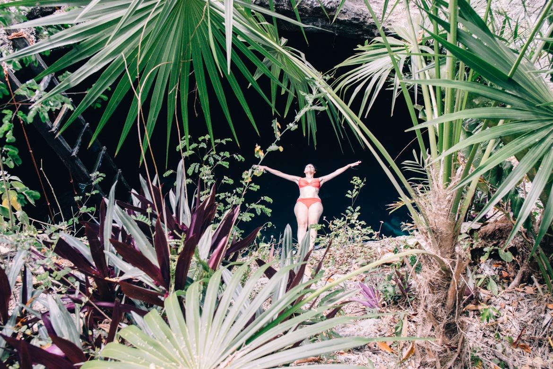 Die Cenote Calavera in Tulum
