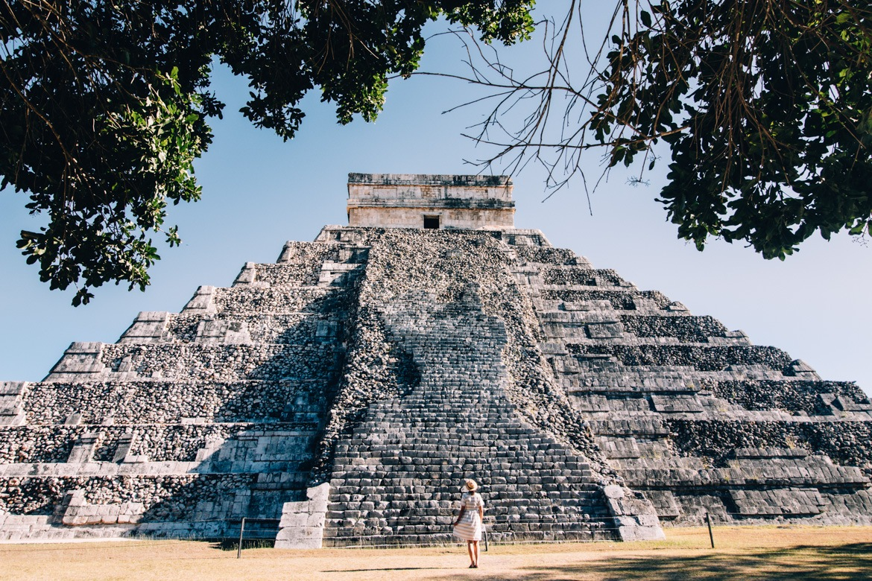 So groß ist die Pyramide des Kukulcán von Chichen Itza wirklich