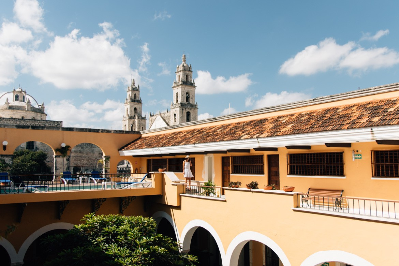 Wunderschönes Merida, die größte Stadt in Yucatan