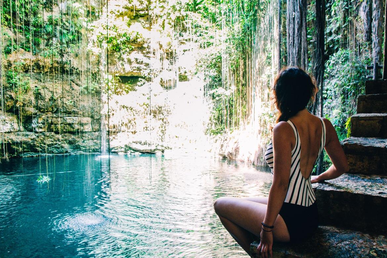 Die schönsten Cenoten in Yucatan - Mexikos versteckte Oasen: Cenote Ik'Kill