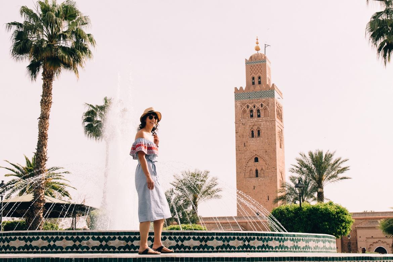 Marrakesch Guide – Tipps, Ausflüge, & Sehenswürdigkeiten {Marokko} - Die Koutoubia Moschee
