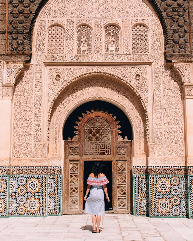Marrakesch Guide – Tipps, Ausflüge, & Sehenswürdigkeiten {Marokko}: Ben Youssef Madrasa