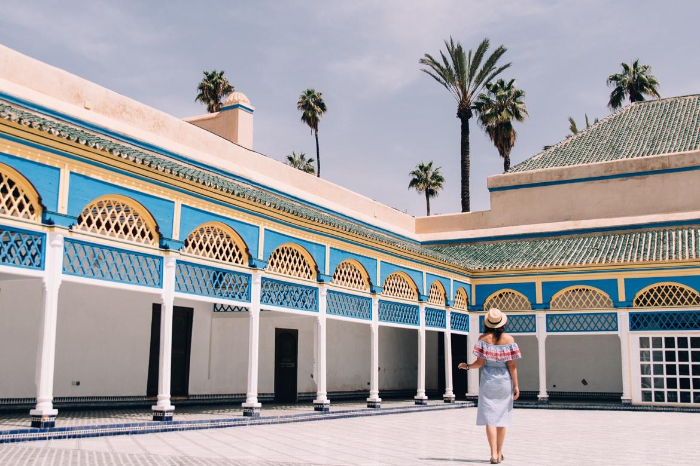 Marrakesch Guide – Tipps, Ausflüge, & Sehenswürdigkeiten {Marokko}: Bahia Palast