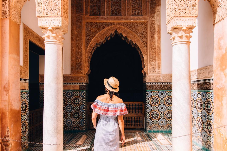 Marrakesch Guide – Tipps, Ausflüge, & Sehenswürdigkeiten {Marokko}: Saadier Gräber