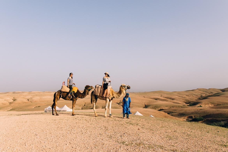 Von Marrakesch in die Wüste: Glamping-Auszeit im Scarabeo Camp