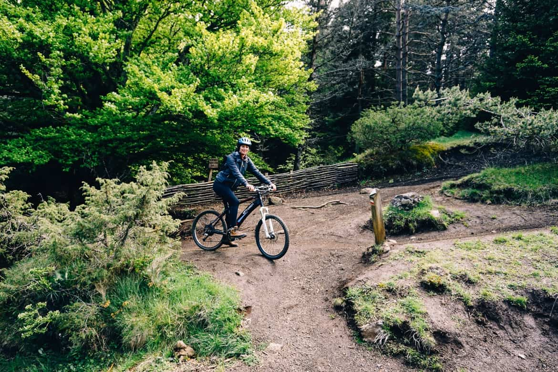 Auvergne: Mountainbiken am roten Vulkan, Puy de la Vache
