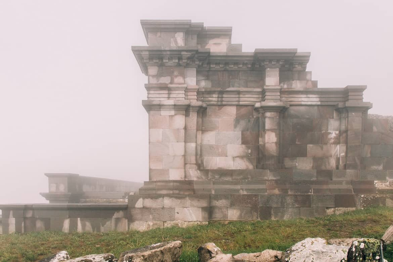 Auvergne - Wandern am Puy de Dôme: die römischen Ruinen