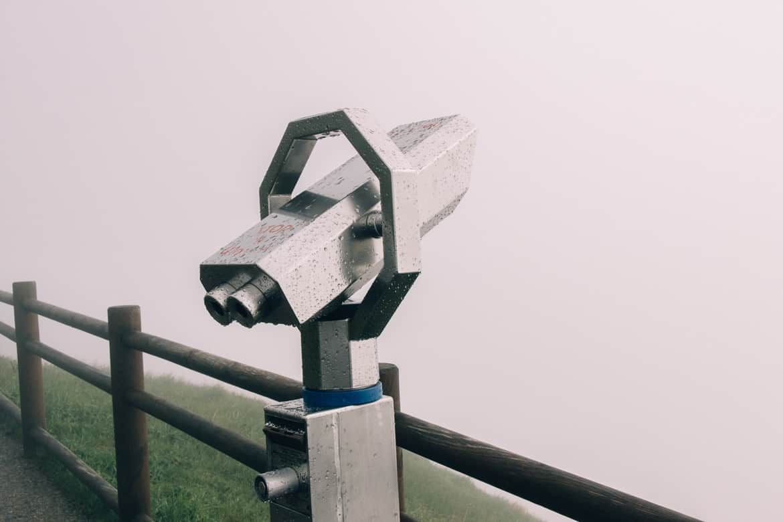 Auvergne - Wandern am Puy de Dôme: leider keine Aussicht