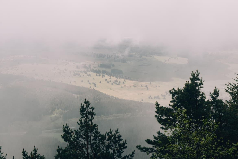 Auvergne - Wandern am Puy de Dôme: die Wolken lichten sich
