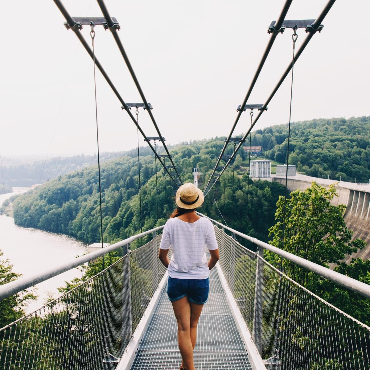 Juli Update - Auf der längsten Hängeseilbrücke der Welt im Harz