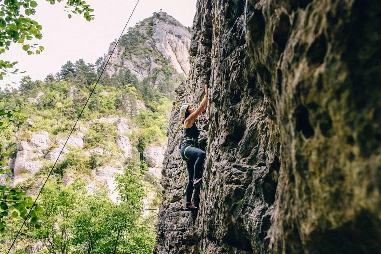 Lozere - Klettern auch für Anfänger im Cirque des Baumes