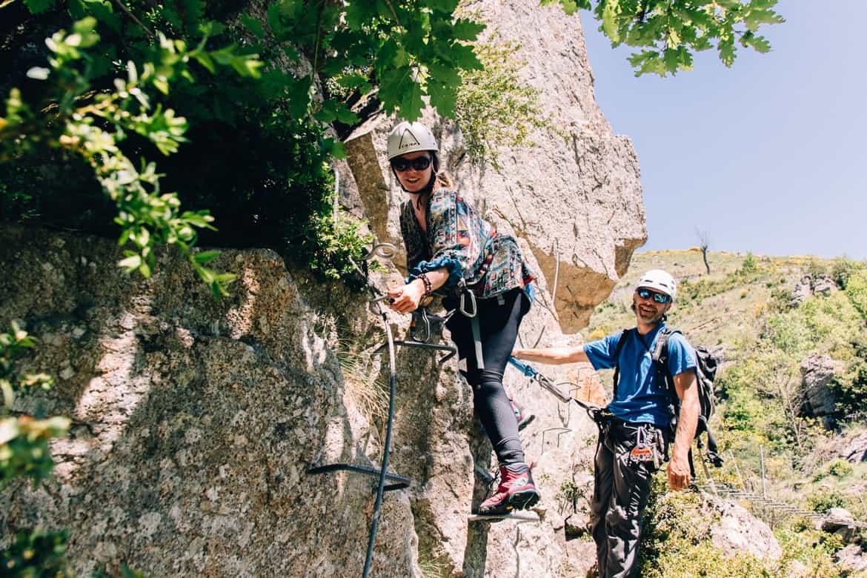 Lozere - Klettersteig Via Ferrata des Rousses