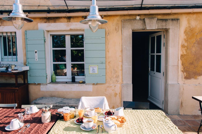 Vaucluse in der Provence , Übernachtungstipp: Mas de la Lause
