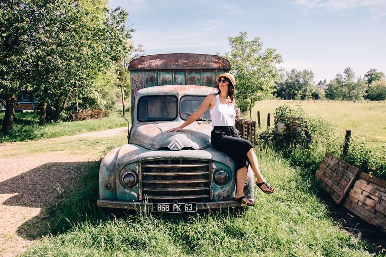 Burgund - Hausbooturlaub im Dorf La Toue Cabanée in Chavannes: So idyllisch!