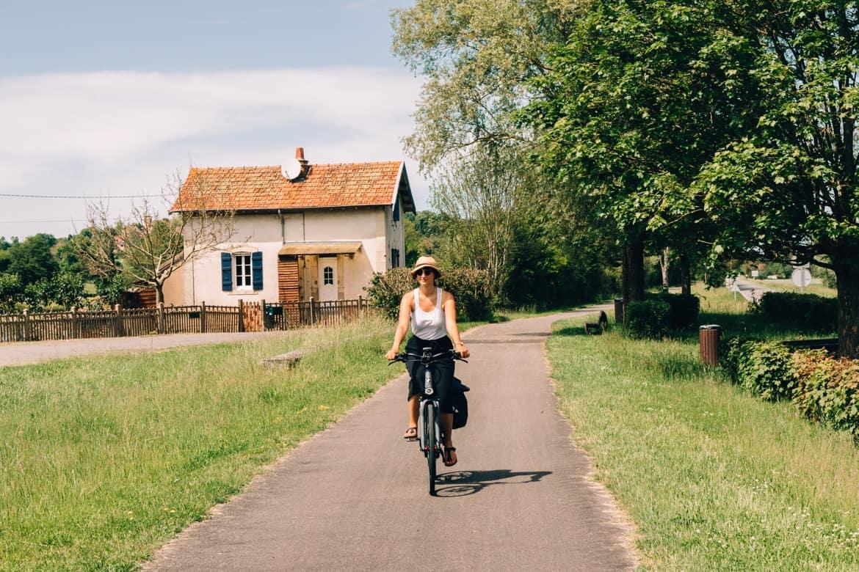 Burgund - Radtour auf dem Voie Verte von Cluny nach Cormatin