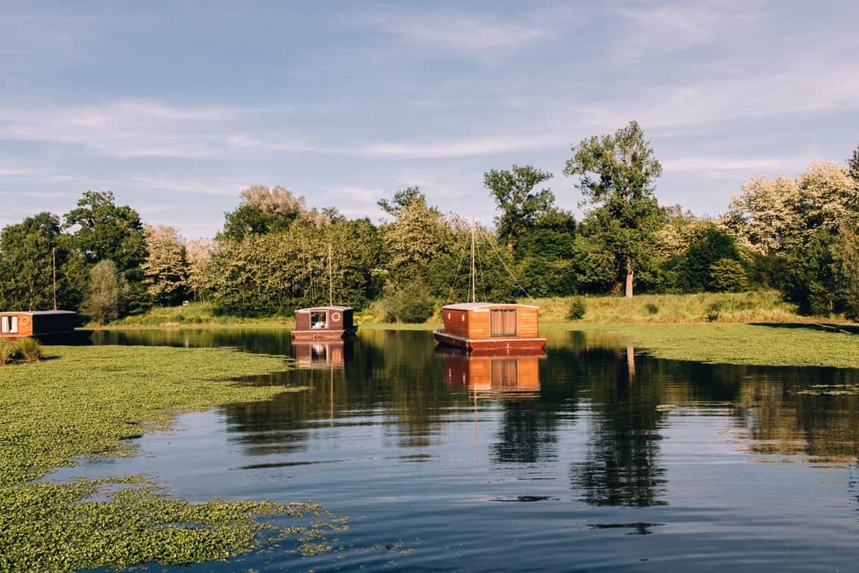 Burgund - Hausbooturlaub im Dorf La Toue Cabanée in Chavannes ist so idyllisch