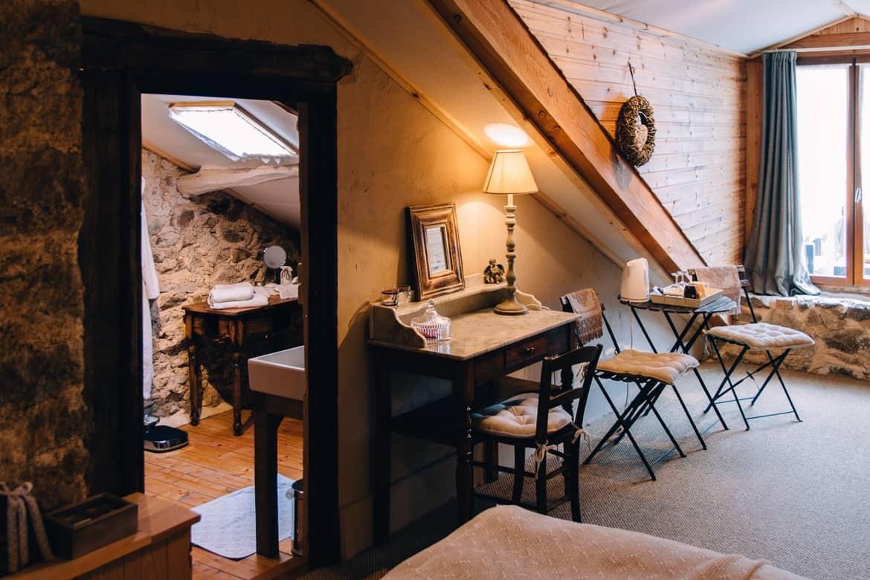 Auvergne Übernachtungstipp Loire: Auberge de La Murette