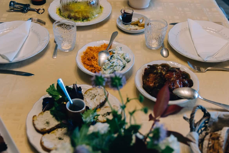 Übernachtungstipps Loire: Essen im La Champolynoise