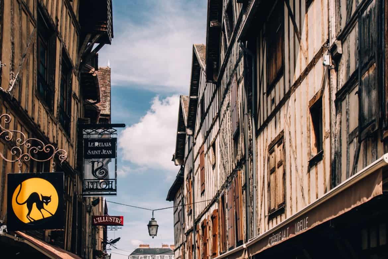 Troyes - Ein Tag im Herzen der Champagne: Lunch in der Altstadt z.B. im Chez Felix