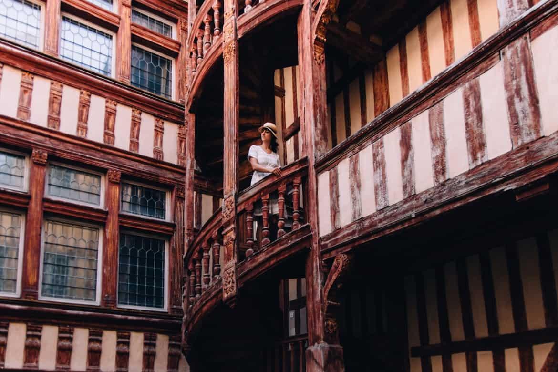 Troyes - Ein Tag im Herzen der Champagne: Sightseeing / versteckter Innenhof