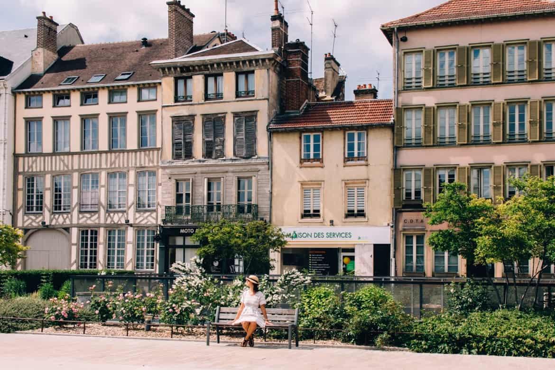 Troyes - Ein Tag im Herzen der Champagne: Sightseeing / schöne Fachwerkhäuser
