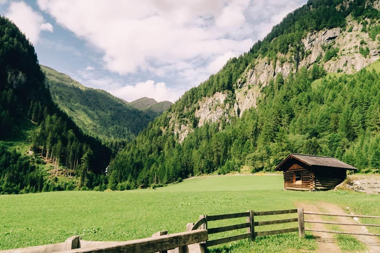 Ausgehtour Hinterbichel: Wanderung im Umbaltal