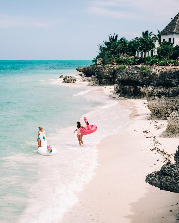 Sansibar - Tipps, Ausflüge und Must-Sees für die Trauminsel in Tanzania: Der Strand des Essque Zalu Zansibar