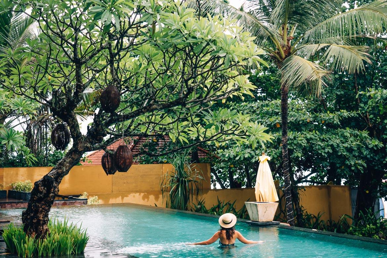 Anantara Seminyak, Bali - der Außenpool