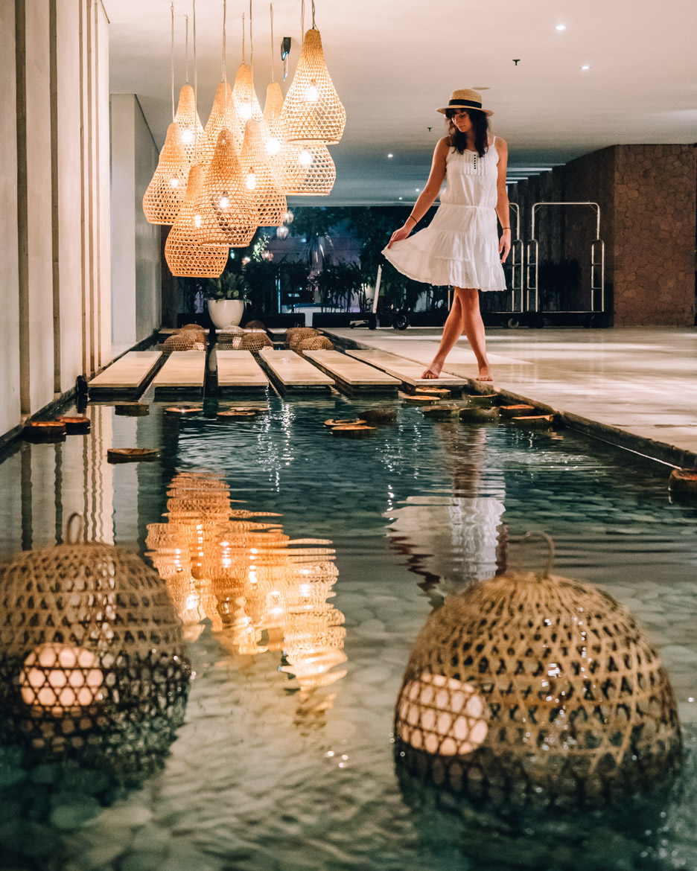 Anantara Seminyak, Bali - die Lobby