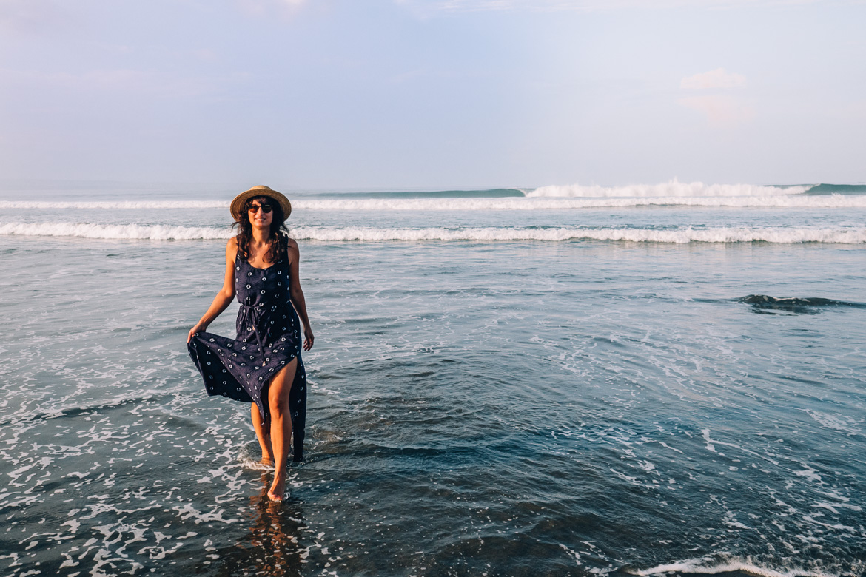 Anantara Seminyak, Bali - Morgenstimmung am Strand