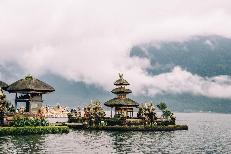 Bali - Der See-Tempel Pura Ulun Danu Bratan