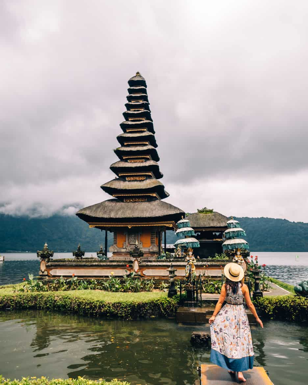 Bali - Der See-Tempel Pura Ulun Danu Bratan 2
