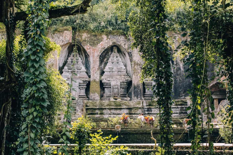 Die schönsten Tempel auf Bali - Die Grabstätte Gunung Kawi 1