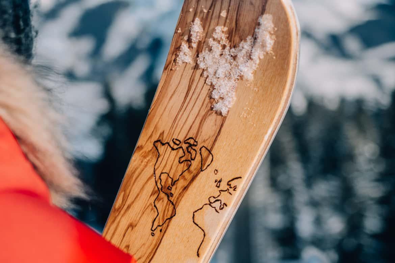 Ski selber bauen in Sankt Johann & Testfahrt im Snowspace Salzburg 11