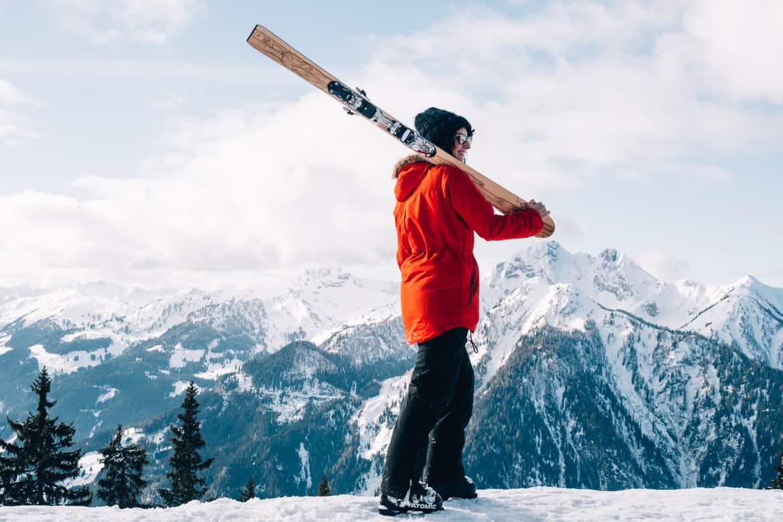Ski selber bauen in Sankt Johann & Testfahrt im Snowspace Salzburg 12